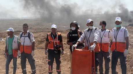 فريق طبي في قطاع غزة -صورة من الأرشيف