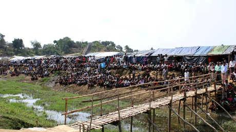 مخيمات الروهينغا في بنغلادش