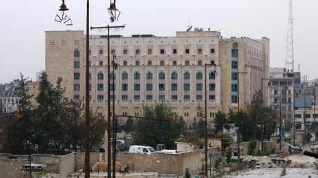 فندق شيراتون في محافظة حلب السورية - أرشيف