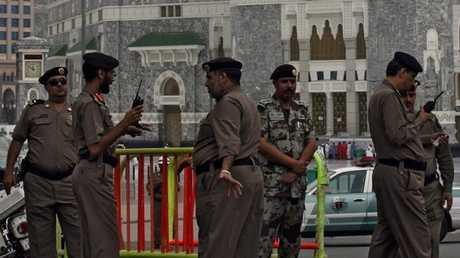 رجال شرطة سعوديين- صورة من الأرشيف