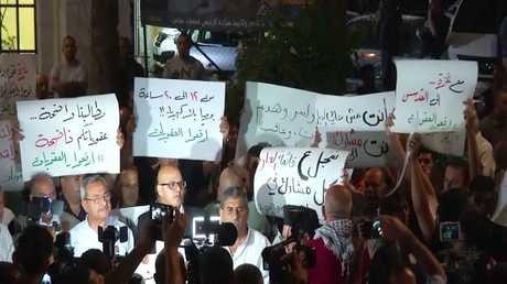 احتجاجات في الضفة الغربية تضامنا مع غزة