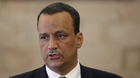 المبعوث الدولي السابق إلى اليمن إسماعيل ولد الشيخ