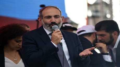 رئيس الوزراء الأرمني الجديد، نيكول باشينيان
