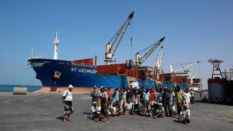 ميناء الحديدة في اليمن - أرشيف