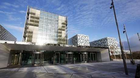 المبنى الجديد لمحكمة العدل الدولية في لاهاي