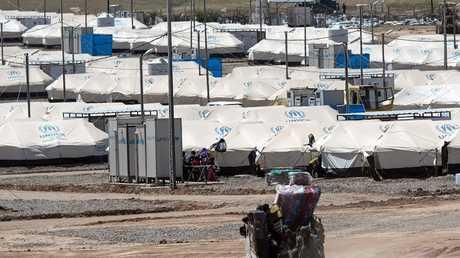 مخيمات لاجئين في العراق - أرشيف