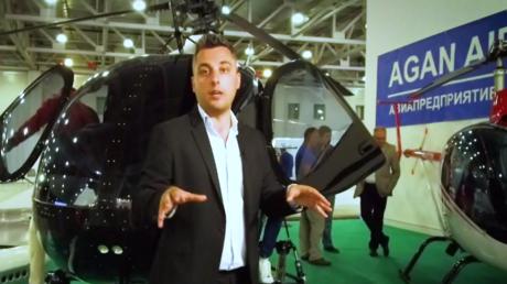 جديد عالم الطيران المروحي في معرض بموسكو