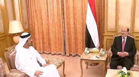 الرئيس اليمني في زيارة رسمية للإمارات