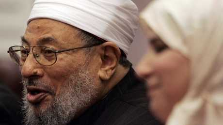 الداعية الإسلامي يوسف القرضاوي - أرشيف