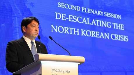 وزير الدفاع الياباني ايتسونوري اونوديرا