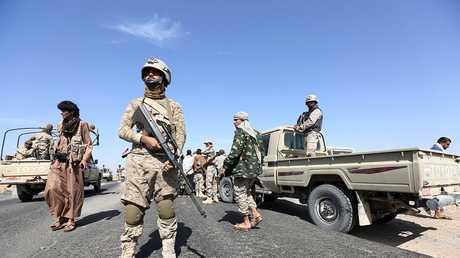قوات موالية للرئيس هادي