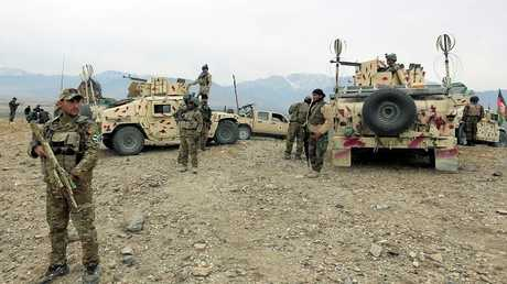 الجيش الأفغاني - أرشيف