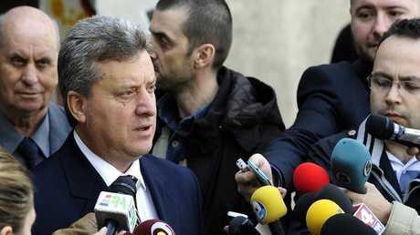 الرئيس المقدوني غورغي إيفانوف - أرشيف