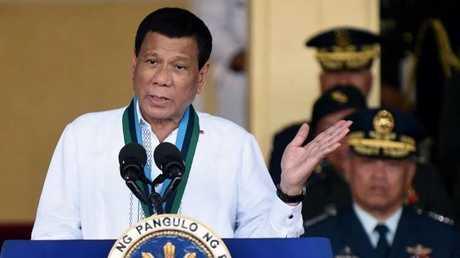 الرئيس الفيلبيني رودريغو دوتيرتي