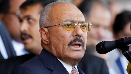 الرئيس اليمني الراحل، علي عبد الله صالح