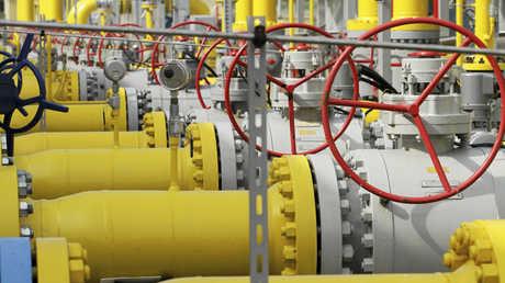 محطة لتوزيع الغاز في بولندا