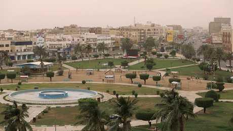 منظر لمدينة الحديدة الواقعة على البحر الأحمر، اليمن، 14 يونيو 2018