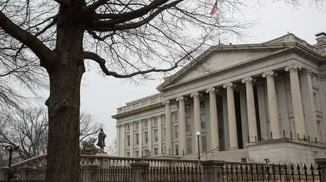 مبنى وزارة المالية الأمريكية في واشنطن، أرشيف