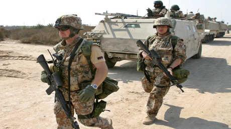 جنود دنماركيون في العراق - أرشيف