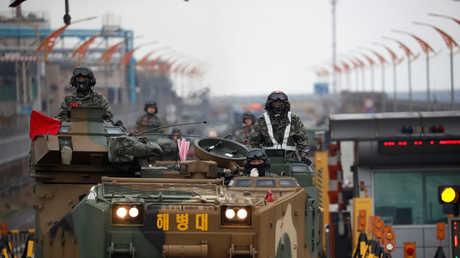 المناورات العسكرية لكوريا الجنوبية والولايات المتحدة، أبريل 2018