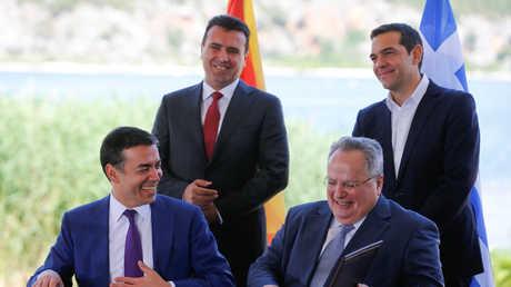 إبرام اتفاق على تغيير اسم مقدونيا