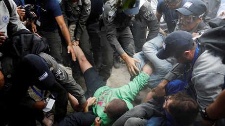 اشتباكات بين الشرطة ومستوطنين في الضفة الغربية