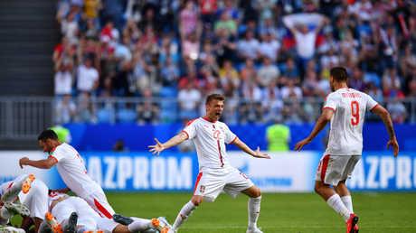صربيا تتخطى كوستاريكا بصعوبة في المونديال