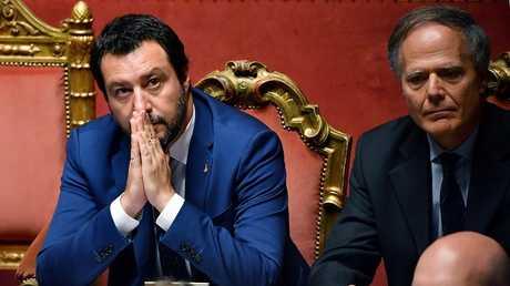 وزير الخارجية الإيطالي إنزو موافيرو ميلانزي