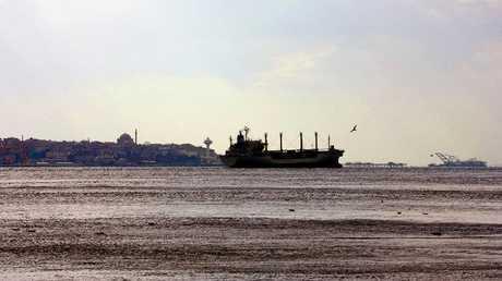 سفينة شحن ترفع تركية - أرشيف -