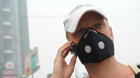 قناع للوقاية من الهواء الملوث