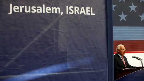 السفير الأمريكي لدى إسرائيل دافيد فريدمان