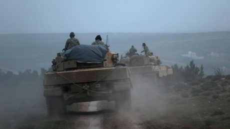 القوات التركية في شمال سوريا