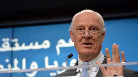 المبعوث الأممي الخاص إلى سوريا ستافان دي ميستورا