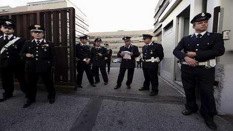 عناصر من الشرطة الإيطالية - أرشيف -