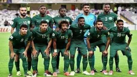حريق على متن طائرة المنتخب السعودي