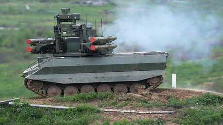 الروبوت القتالي الروسي