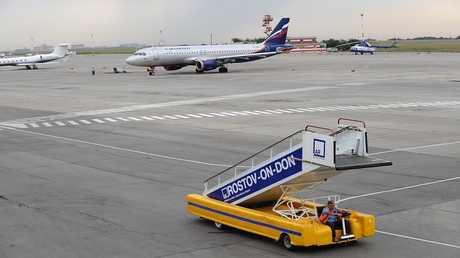 صورة ارشيفية لمطار روستوف على الدون