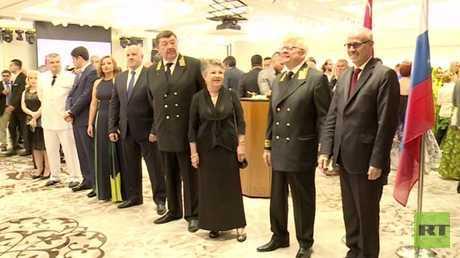 الاحتفال باليوم الوطني لروسيا الاتحادية في بيروت