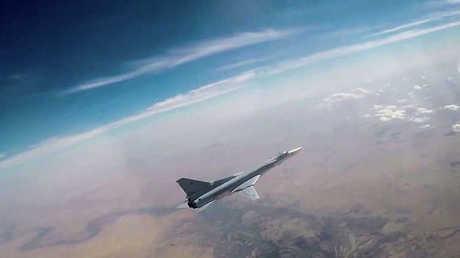 طائرة حربية تابعة للقوات الفضائية الروسية