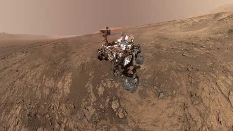 كريوسيتي يلتقط سيلفي وسط العاصفة القوية على المريخ