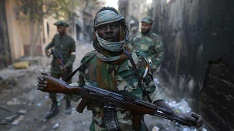 عناصر الجيش الوطني الليبي