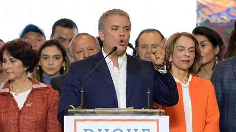 رئيس كولومبيا الجديد إيفان دوكي