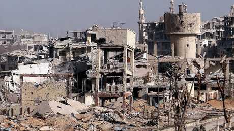 سوريا.. إزالة الأنقاض في حرستا والطريق الرئيسي يعود للخدمة خلال 10 أيام