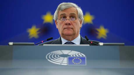 رئيس البرلمان الأوروبي أنطونيو تاياني