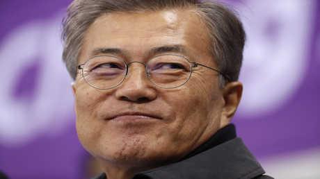 رئيس كوريا الجنوبية مون جيه أون