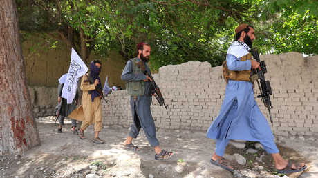 عناصر من حركة طالبان، أفغانستان
