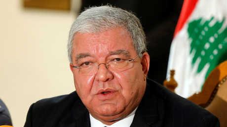 وزير الداخلية اللبناني نهاد المشنوق، أرشيف