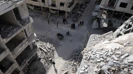 مدينة دوما - غوطة دمشق الشرقية