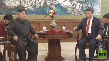 الزعيم الكوري الشمالي يختتم زيارته للصين