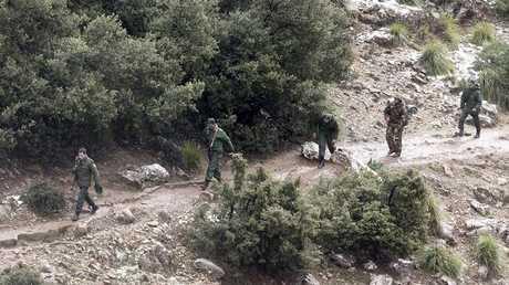 جنود جزائريون (صورة من الأرشيف)